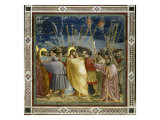 The Betrayal of Christ Giclée-tryk af  Giotto di Bondone
