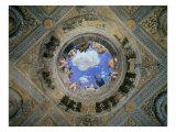 Camera Degli Sposi: Ceiling Oculus Giclee Print by Andrea Mantegna