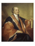 Chief Justice John Jay Giclee Print by Gilbert Stuart