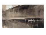 Trout Fishing, Lake St. John Giclee Print by Winslow Homer