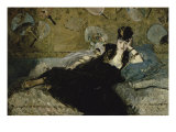 La Dame Aux Eventails Giclee Print by Edouard Manet