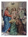 The Last Supper Giclee Print by Heinrich Hofmann