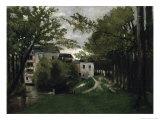 Le Moulin a la Roche Guyon Reproduction procédé giclée par Camille Pissarro