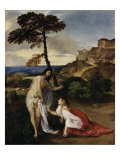 Noli Me Tangere Giclée-tryk af  Titian (Tiziano Vecelli)