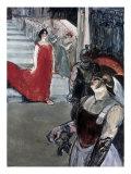 Opera Messalina at Bordeau Lámina giclée por Henri de Toulouse-Lautrec
