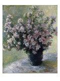 Vaso di peonie Stampa giclée di Claude Monet