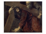 Jesus with the Crucifix Giclée-tryk af  Titian (Tiziano Vecelli)
