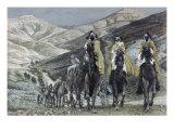 The Wise Men Journeying to Bethelhem Giclee Print by James Tissot