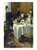 The Luncheon Giclée-Druck von Claude Monet