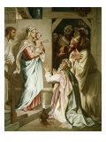 Adoration of the Magi Giclee Print by Heinrich Hofmann