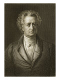 Johann Wolfgang Von Goethe Giclee Print