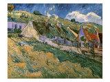 Thatched Cottages Giclee-trykk av Vincent van Gogh