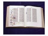 Gutenberg Bible: Book of Daniel Giclée-tryk