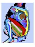 Abstrakti No.8 Giclée-vedos tekijänä Diana Ong