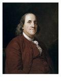 Benjamin Franklin Giclee Print by Joseph Wright of Derby
