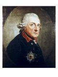 Frederick the Great Giclée-tryk af Anton Graff