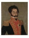 Simon Bolivar Giclée-tryk af Jose Gil De Castro