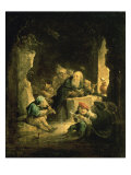 The Temptation of St. Anthony Giclée-Druck von David Teniers the Younger