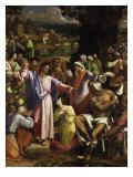 The Raising of Lazarus Giclée-vedos tekijänä Sebastiano del Piombo