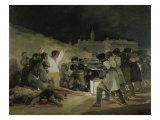 The 3rd of May 1808 in Madrid Giclee Print by Francisco de Goya