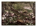 Noah's Ark Giclée-tryk af Francesco Bassano