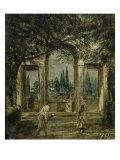Medici Villa Reproduction procédé giclée par Diego Velazquez