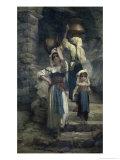 The Women of Cervaria Giclee Print by Ernest Antoine Hebert