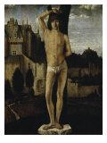 Saint Sebastian Giclée-tryk af  Antonello da Messina