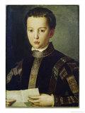 Portrait of Francesco I De'Medici Giclée-tryk af Agnolo Bronzino