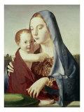Madonna med barnet Giclée-tryk af  Antonello da Messina