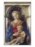 Madonna med barnet Giclée-tryk af Fra Filippo Lippi