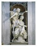 Abacuc and the Angel Giclée-tryk af Bernini, Giovanni Lorenzo