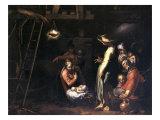The Birth of Christ Lámina giclée por Abraham Bloemaert