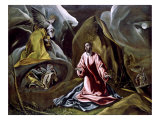 The Agony in the Garden Lámina giclée por  El Greco