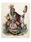 Keokuk (Chief of the Sauk and Fox Nation) Giclee Print by Charles Bird King