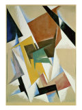 Room Construction Giclee Print by Liubov Sergeevna Popova