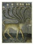 The Beast Comes Out of the Sea Giclée-tryk af Giusto De' Menabuoi