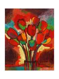 Kandinsky's Tulips Giclee Print by John Newcomb