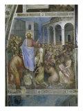 Jesus's Miracles Giclée-tryk af Giusto De' Menabuoi