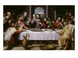 The Last Supper Giclee Print by Juan Juanes