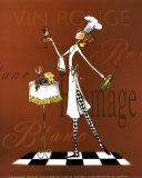 Sassy Chef II Poster von Mara Kinsley