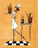 Sassy Chef IV Poster von Mara Kinsley