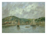 Cherbourg, 1883 Giclee Print by Eugène Boudin