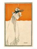 "Isolde, Illustration from ""The Studio,"" 1895 Stampa giclée di Aubrey Beardsley"
