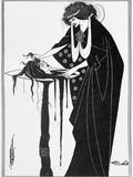 """The Dancer's Reward, Illustration from """"Salome"""" by Oscar Wilde, Published 1894 Giclée-vedos tekijänä Aubrey Beardsley"""