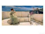 Espérances (1885) Reproduction procédé giclée par Sir Lawrence Alma-Tadema