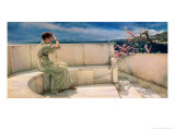 Expectations, 1885 Giclee Print by Sir Lawrence Alma-Tadema