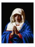 The Virgin in Prayer, 1640-50 Giclee Print by  Giovanni Battista Salvi da Sassoferrato
