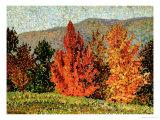 Autumn Landscape, circa 1903 Reproduction procédé giclée par Henri Edmond Cross