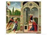 The Annunciation (panel) Giclée-Druck von Vittore Carpaccio